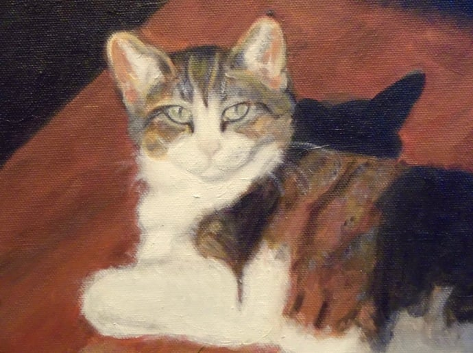 Hilda - Tanya Roland - Painting