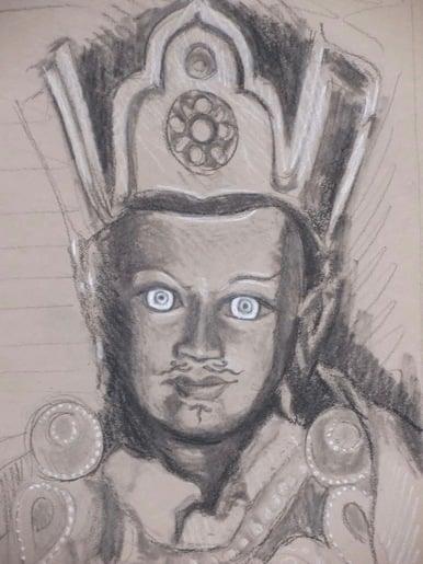 Padma- Tanya Roland - Drawing