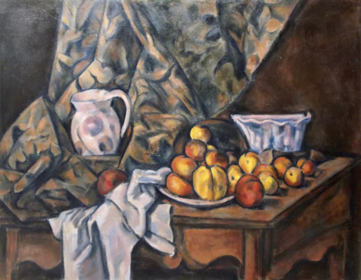 Still Life after Cezanne - Tanya Roland - Copying the Masters