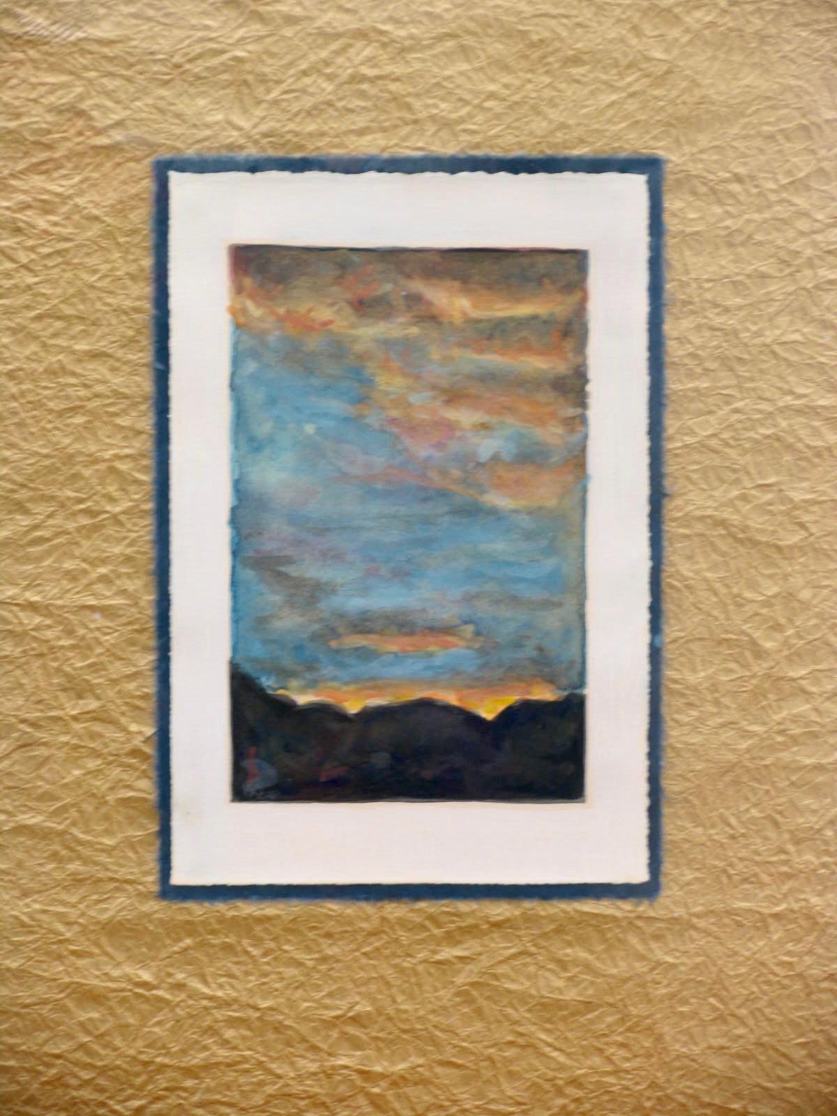 Sunset - Tanya Roland - Painting