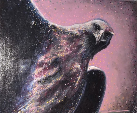 The Seer - Tanya Roland - Painting