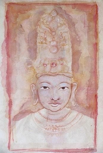 The Bodhisattva - Tanya Roland - Drawings