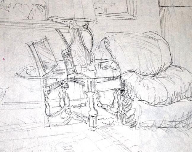 Interior - Tanya Roland - Drawing