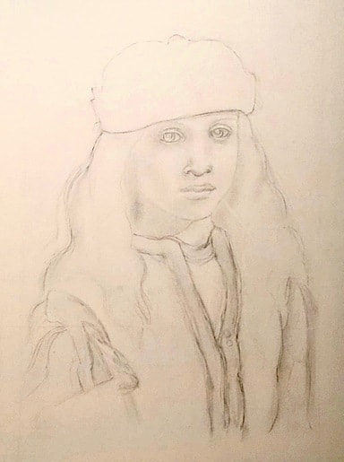 Youth - Tanya Roland - Drawing
