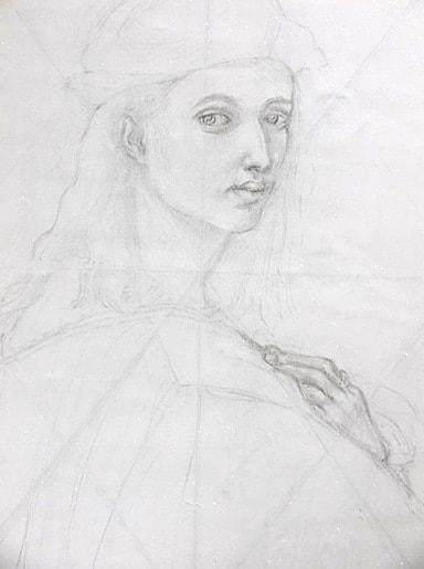 Bindo - Tanya Roland - Drawing