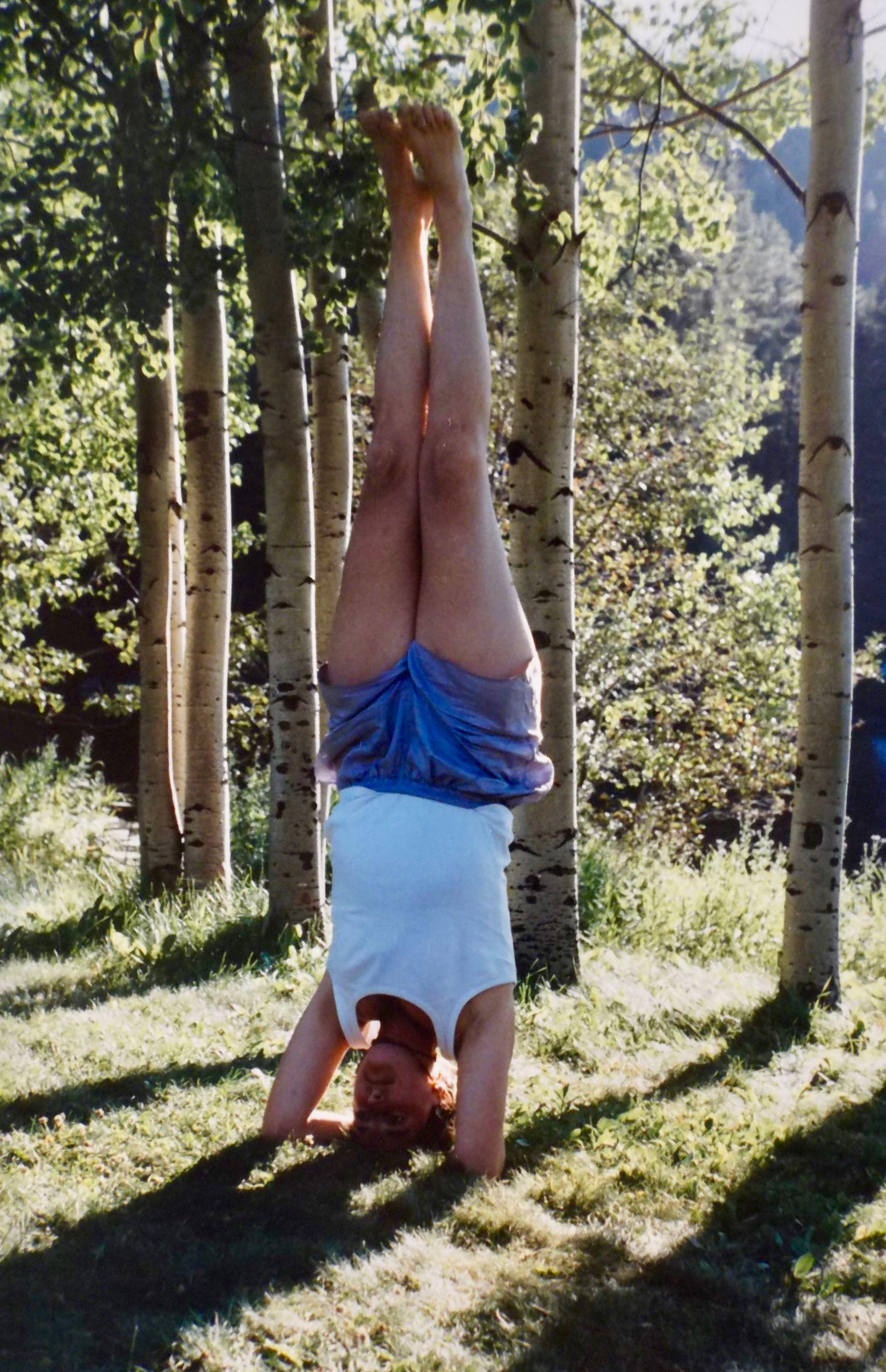Yoga - Headstand - Tanya Roland